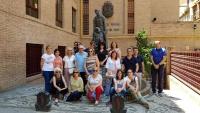 Trabajadores del CEE y la Escuela Universitaria en Granada.